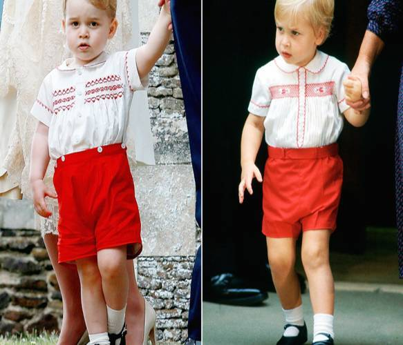 Prince George Looks Like Prince Williams's Double In Cute Outfit