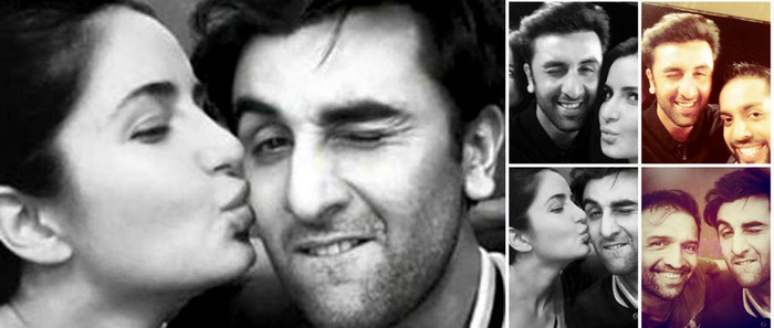 Fake Pics Of Katrina Kaif Kissing Ranbir Kapoor Doing The Rounds