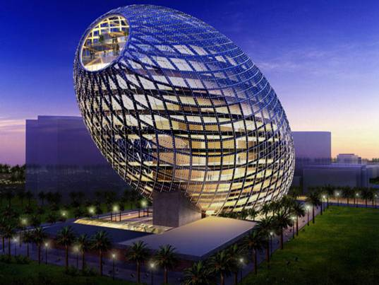 Corporate Offices In India That Are Architectural Marvels - Cybertecture Egg, Mumbai