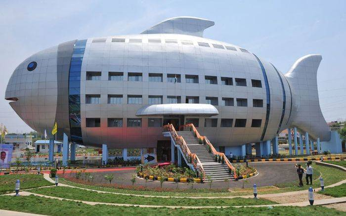 Corporate Offices In India That Are Architectural Marvels - Fisheries Dept.Bldg., Hyderabad