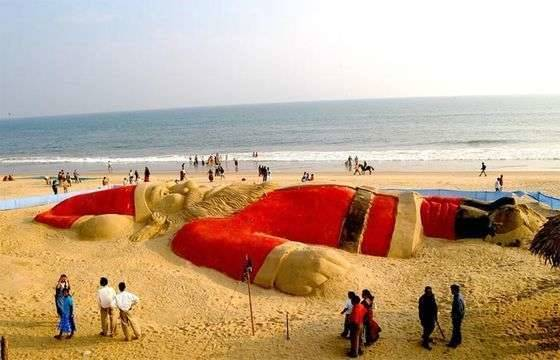 Most Popular City Beaahes In India - Sea Beach, Puri