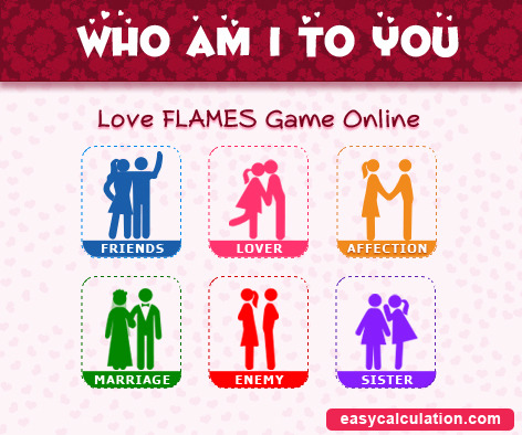 Love Calculator - Who Am I To You?