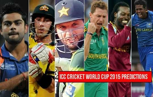 Cricket World Cup 2015 - Who Will Win