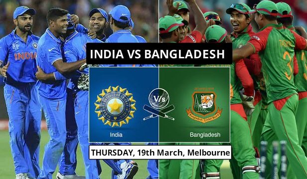 World Cup 2015 Quarterfinal India Vs Bangladesh: The Match Team India Can't Afford To LOSE