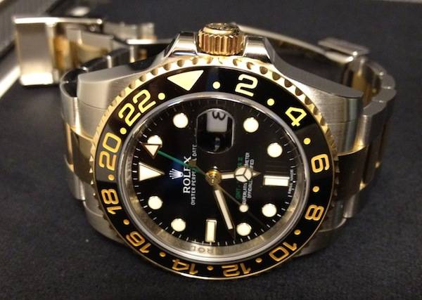 Most Expensive Designer Watches - Rolex GMT Master II