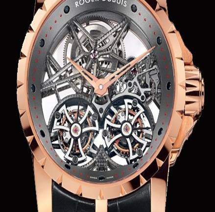 Most Expensive Designer Watches - Roger Dubuis Millesime Double Flying Tourbillon