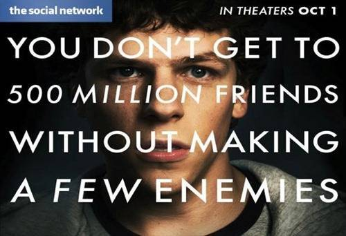 Epic Movies Based On Real Life Business Tycoons - The Social Network