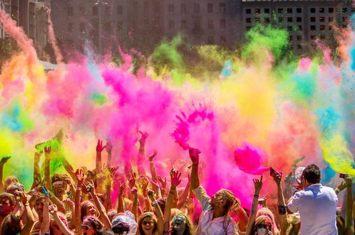 A Holi Note:Let's Make It Holy