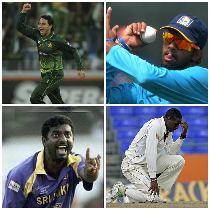 Famous Bowlers BANNED For Illegal Bowling Action