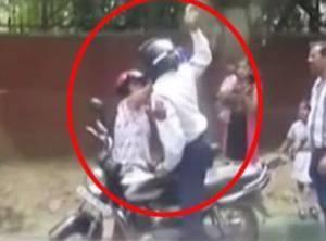Shocking: Woman Thrashed By Delhi Traffic Police