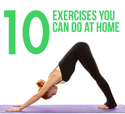 10 Easy Exercises You Can Do At Home