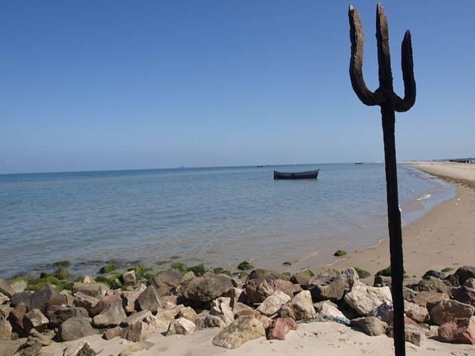 Indian Beaches That Have Interesting Tales - Land's End, Dhanushkodi