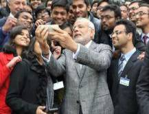 IS OUR PM OBESSED WITH TAKING SELFIES