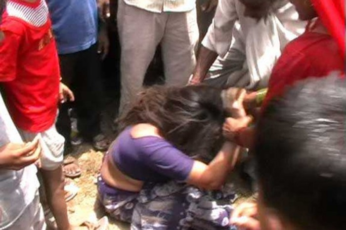 Woman Made To Drink Water From Drain And Paraded Naked Around Village