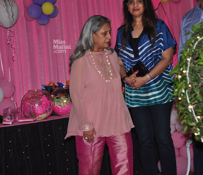 Jaya Bachchan Dresses Up Almost Like A Clown At Aaradhya's Birthday Party