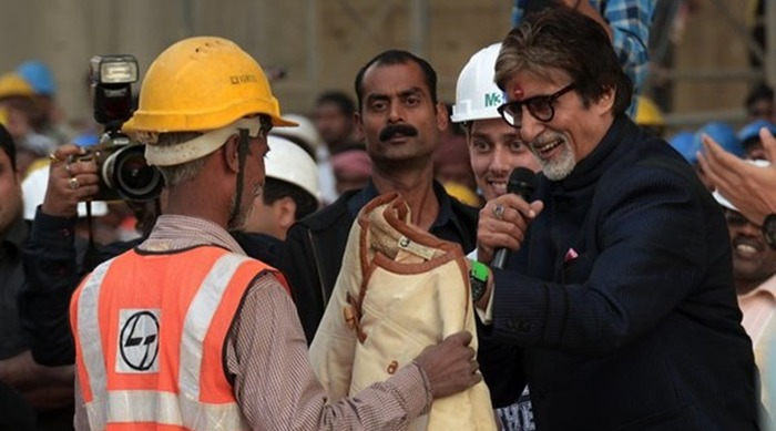 Amitabh Bachchan Donates Iconic 'Silsila' Jacket To Construction Worker