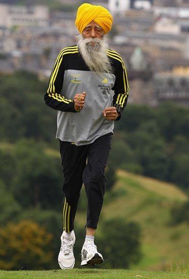 Kudos To 104-year-old Marathon Runner Fauja Singh