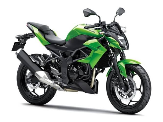 Upcoming 250-500cc Bikes - Kawaski Z250 SL