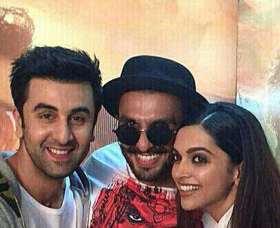 Too Much To Handle: Meet Deepika's Hotties Ranbir And Ranveer