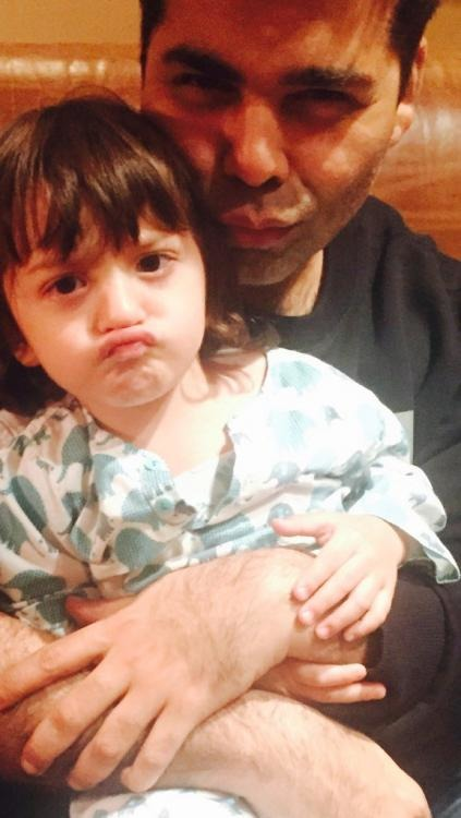 This Photo Of AbRam Khan Will Make Your Day!