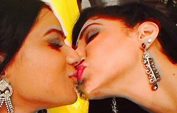 Oops! Nia Sharma And Reyhna Malhotra Caught Kissing: Accidental Or Intentional?