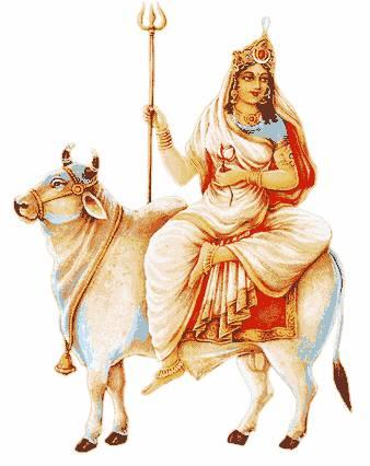 Durga Puja Day One Maa Shailputri