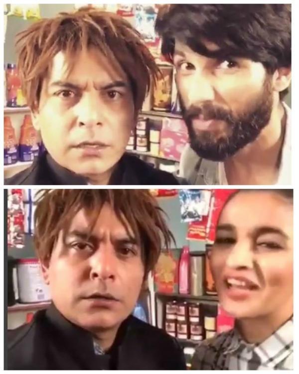 Crazy 'Shopkeeper' Dubsmash By Bollywood Celebrities