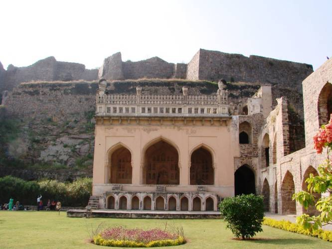 Rani Mahal, Golconda Fort - A Magnificent Piece Of Architecture