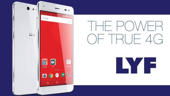 Reliance Launching 4g Hanset With LYF Brand