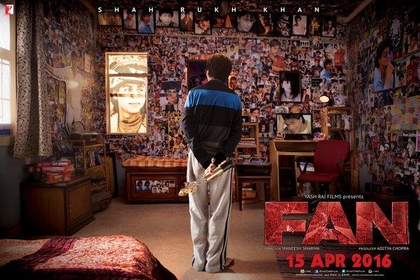 First Look Of Shah Rukh Khan's 'FAN' Is Out: Like It Or Hate It?