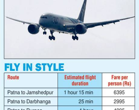 Chartered Plane Service From Darbhanga Airport