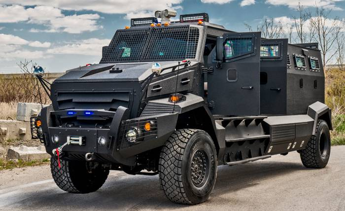World's Most Expensive Armored Cars -  Huron APC