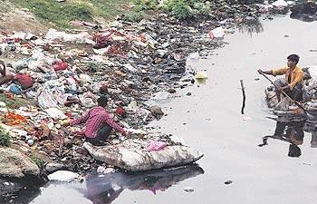 Water Pollution In Delhi