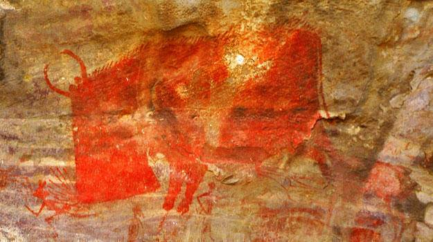 Little Known Wonders Discover In India - Bhimbetka Rock Shelters
