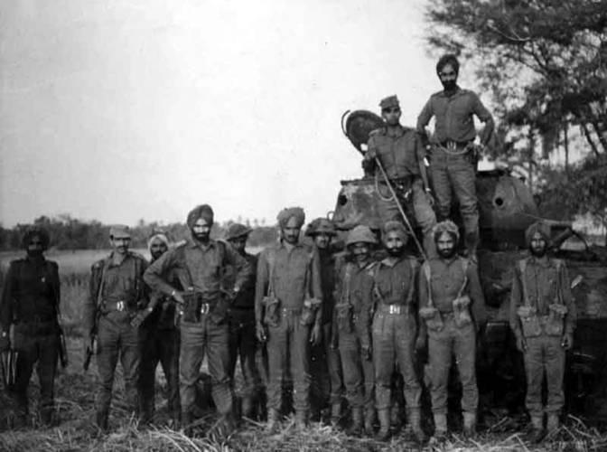 Battle Of Shakargarh Bulge