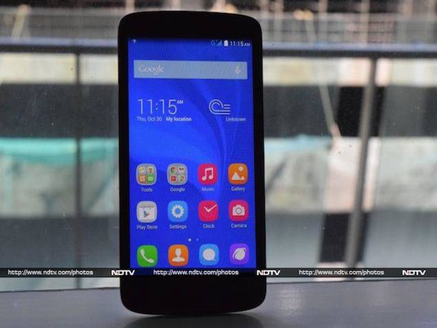 Smartphones With Best User Reviews Under Rs.8 K - Huawei Honor Holly