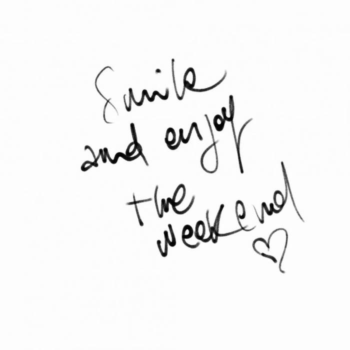 Enjoy Your Long Weekend