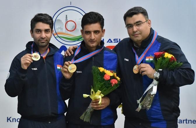 Abhinav Bindra Wins Gold At Asian Air Gun Championships