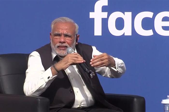 5 Times Narendra Modi Wooed The Silicon Valley