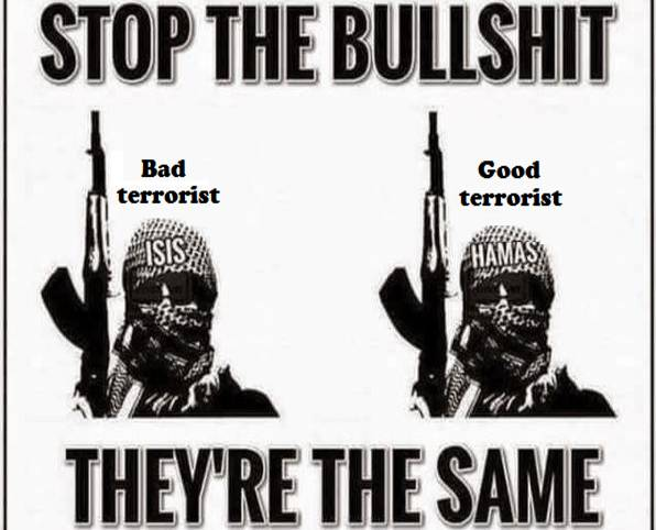 No Such Things As Good Terrorism And Bad Terrorism?
