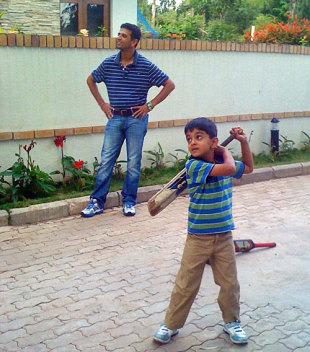 Meet Rahul Dravid's 9-year-old Son, Samit Dravid