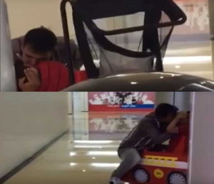 Warning: Think Before You Leave Your Kid In The Mall!