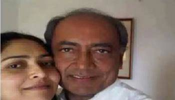 Amrita Rai Confirms Marriage With Digvijay Singh,says 'want Him To Give His Property To His Children