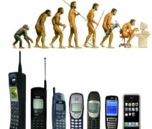 On The Evolution Of Mobile Phones
