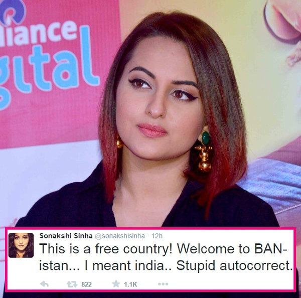 #Meat Ban: Sonakshi Sinha Gets Fat-shamed, Trolled On Twitter