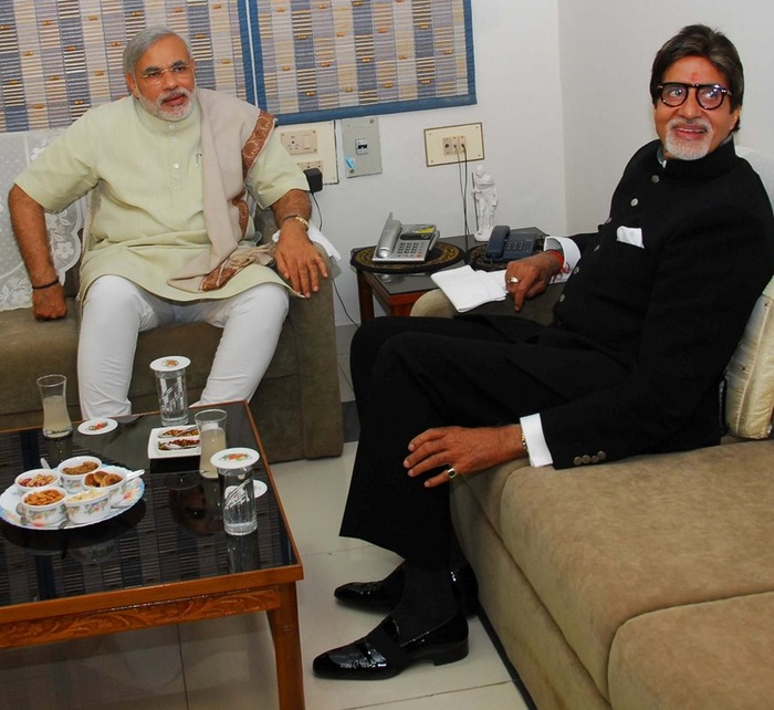 OMG: Narendra Modi To Nominate Amitabh Bachchan For Next President Of India?