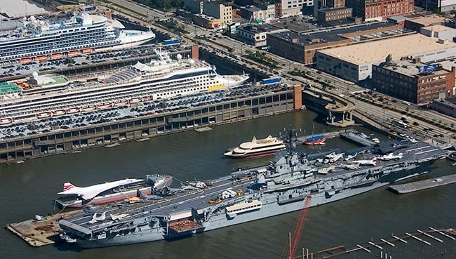 Military Museums - The Intrepid Sea, Air And Space Museum