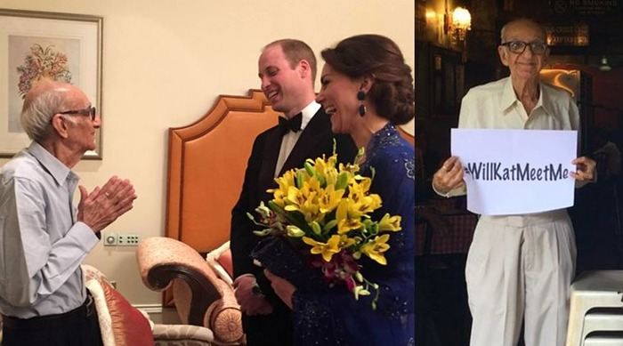 93-year-old Boman Kohinoor's Dream Of Meeting Will And Kate Comes True!