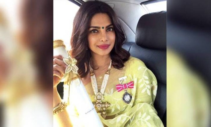 The Credit Of My Work Goes Only And Solely To Me,  Priyanka After Receiving Padma Shri