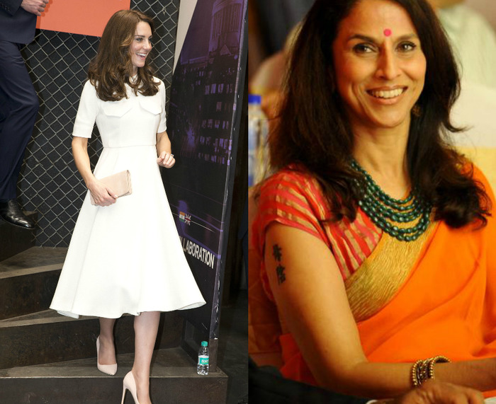 Shobaa De Calls Kate Middleton's Body Unfit For A Saree!